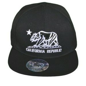 California Republic Snapback Hat